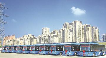 锡城新增1376辆电动公交车