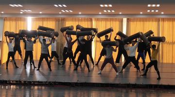 大型民族舞剧《天山魂》首次联排