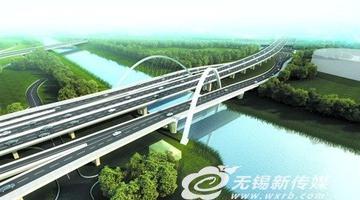 锡北运河辅道桥年底通车