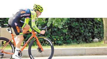 环太湖国际公路自行车赛在锡开赛
