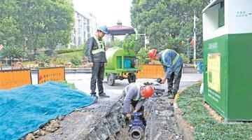 锡城今年将计划改造老旧管网50公里