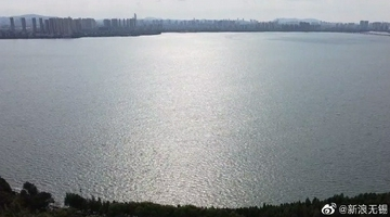 太湖水位接近峰值望虞河開閘泄洪