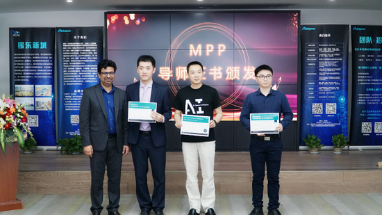 桑迪·古普达先生颁发微软MPP证书