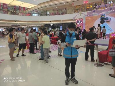 无锡移动圆满完成新吴区万达广场开业活动通信保障工作