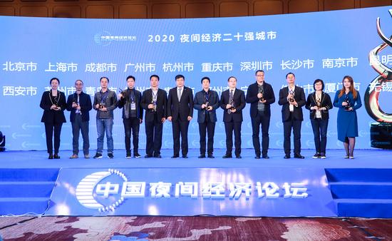 """""""2020中国夜间经济论坛""""在无锡成功召开"""