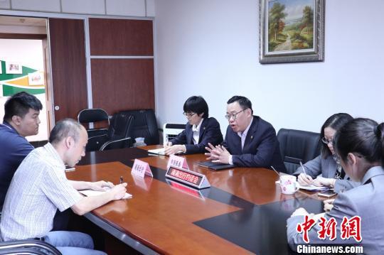上海市消保委约谈滴滴出行。 芊烨 摄