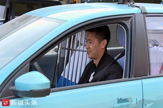 出租车司机汪磊。