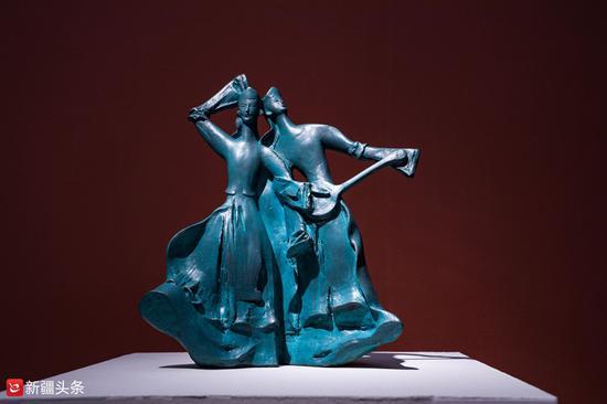 雕塑作品:《塔塔尔族》