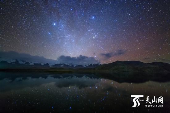 喀拉库勒湖(图由受访者提供)