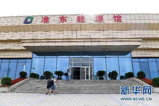 7月12日,新疆首个煤炭主题能源馆在准东经济技术开发区开馆。王前喜 摄
