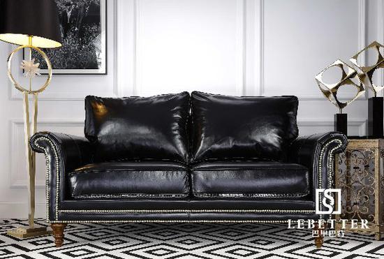2、美式家具生产工艺特点:铆钉