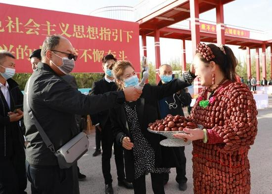 2021新疆·若羌红枣产销对接暨营销推广活动隆重举行