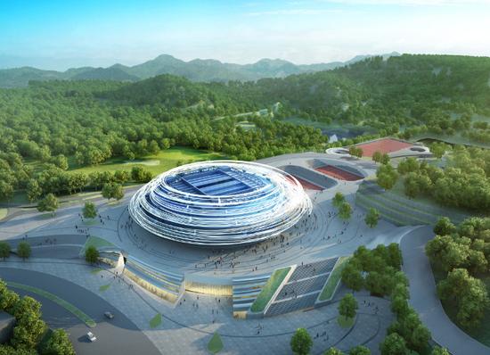 中建钢构中标梦云南-温泉山谷国际网赛中心项目钢结构工程