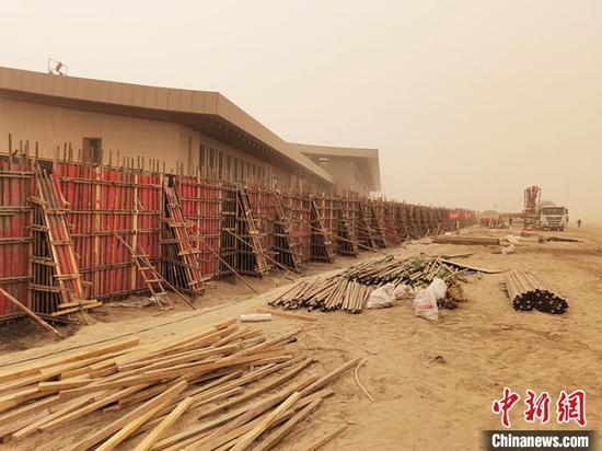 新疆阿克苏至阿拉尔铁路施工总体进度已过半