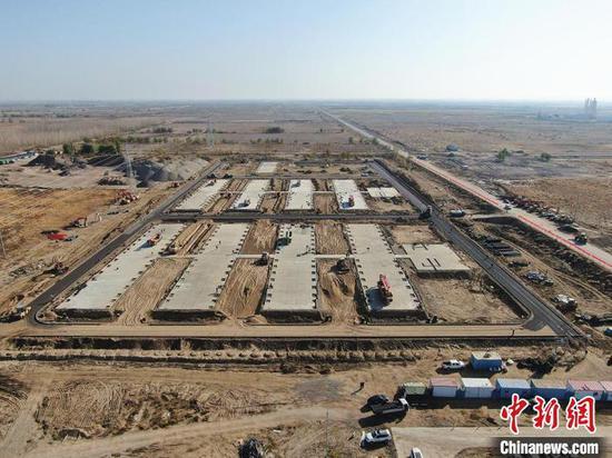 新疆兵团第四师可克达拉市加速医学观察点项目建设