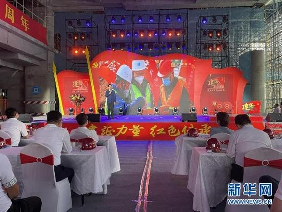 讲述红色故事 传承红色精神——中国建筑集团主题宣讲活动走进