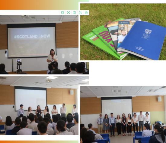 苏格兰顶尖大学在广州耀华举办国际学校招生宣讲会