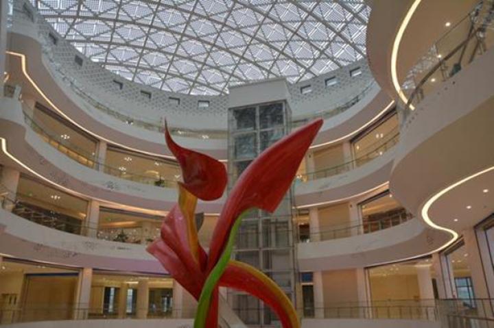 丝绸之路经济带旅游集散中心大楼