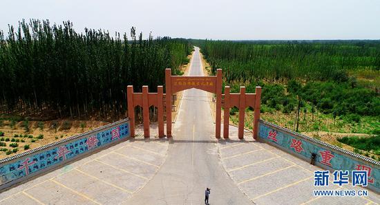 【新疆是个好地方】 航拍新疆和田达玛沟佛教文化遗址