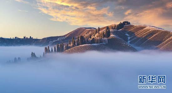 新疆是个好地方|新疆新源:冬日云海翻涌 宛若仙境