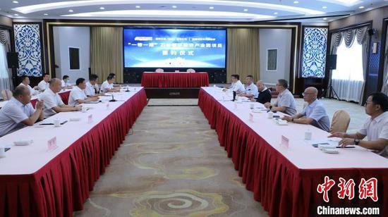 覆盖中亚石材循环经济产业园项目落地新疆博乐
