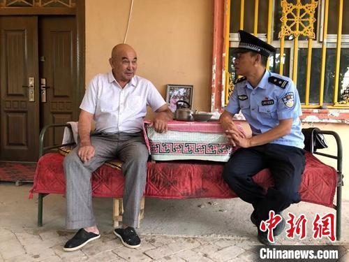 新疆从警20年的民警:和老百姓成无话不说的朋友