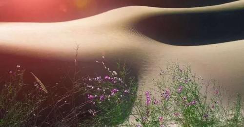 五色沙 鸣沙山上的神秘传说