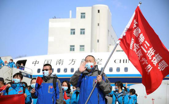 新疆最后一批支援湖北医疗队凯旋
