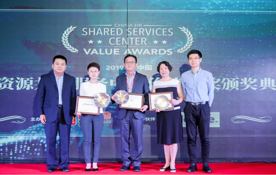 伟创力荣获2019 HREC中国人力资源共享服务中心卓越运营奖