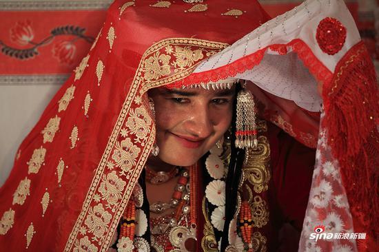 塔吉克新娘