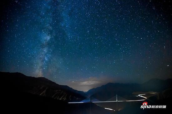 银河落长桥