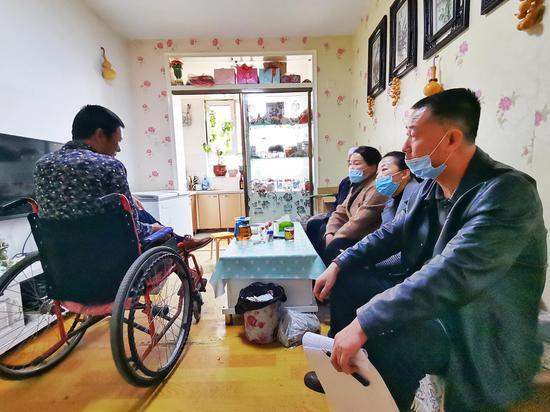 """吉木萨尔县残联""""三举措""""推进残疾人家庭无障碍改造工作"""