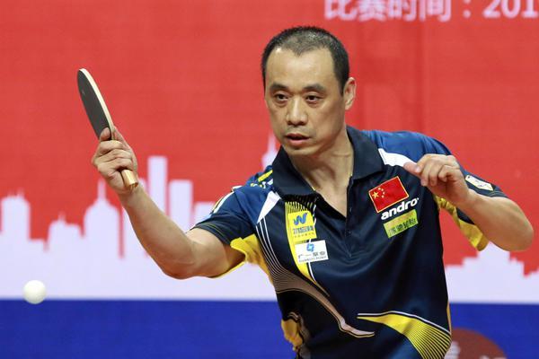 中国砂板勿忘我乒乓球代表队出征伦敦世锦赛