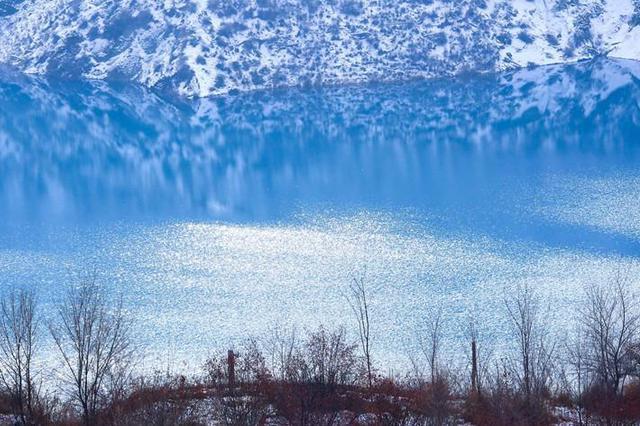 【疆遇风光】初冬时节玛纳斯县南部山区别样风光