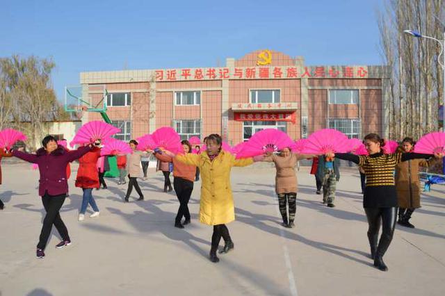 焉耆县:组建舞蹈队 丰富村民文化娱乐生活