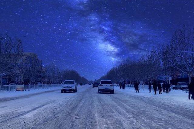 伊宁县:大雪过后静谧洁白的村庄,宛如仙境