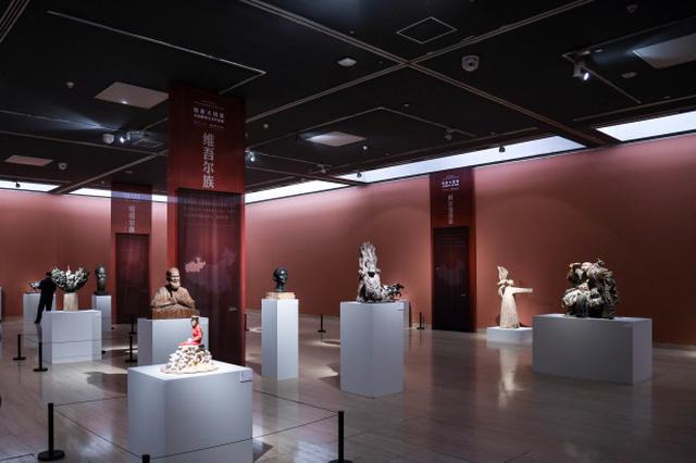 新疆元素作品惊艳中国美术馆 民族大团结