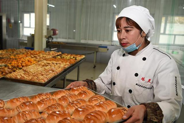 乡村特色糕点工艺助脱贫