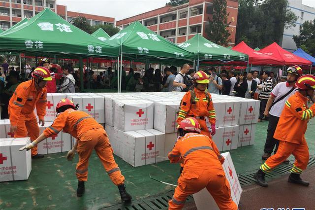 四川宜宾市长宁县抢险救援有序进行