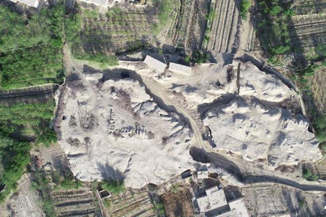 新疆哈密考古发掘再现拉甫却克古城千年风貌