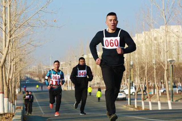 """和硕县举办纪念""""一二·九""""运动百人骑行千人长跑万人徒步活"""