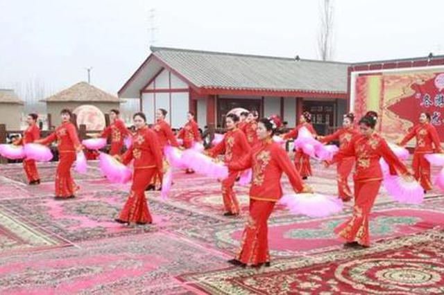 新和县汉西域都护府美食文化节开幕