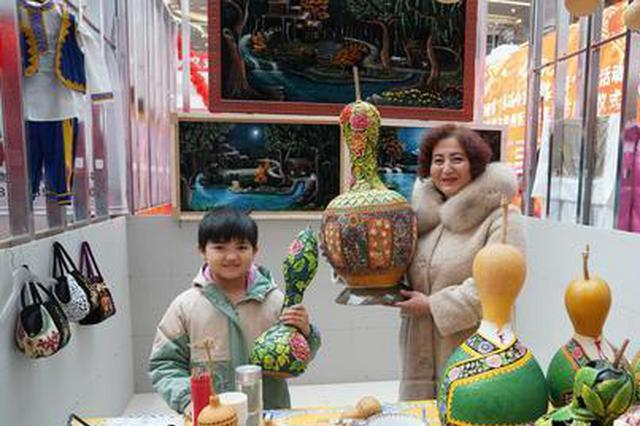 哈密伊州区年货节:土特产飘香,艺术品流芳