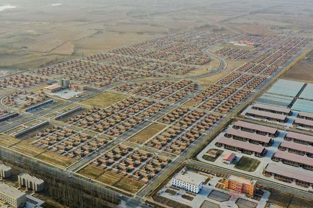 新疆叶城:春到扶贫搬迁点