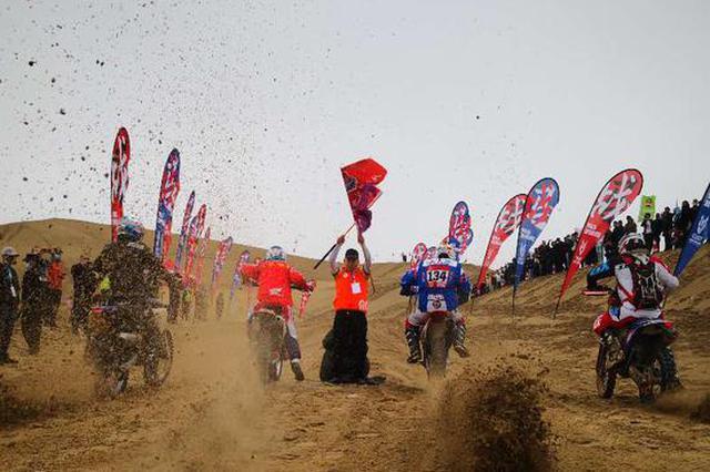 超燃!新疆策勒沙漠越野赛火热启幕