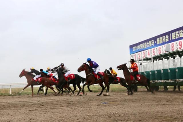 2021中华民族大赛马·新疆马会(昭苏站)性能测试系列赛隆重