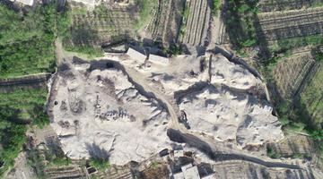 哈密考古发掘再现拉甫却克古城
