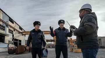 乌鲁木齐铁警开展高铁隐患大整治
