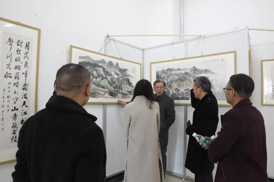 翰墨高原·当代中国书画名家作品进藏展21日开幕