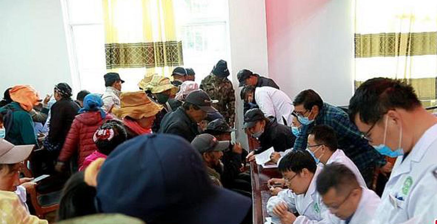 安徽省援藏医疗队在西藏山南开展系列义诊活动